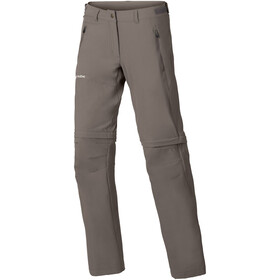 VAUDE Farley Stretch Zip-Off T-Zip Pants Women, coconut